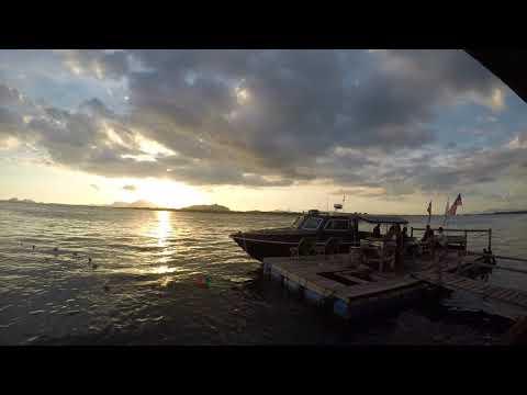 Sunset at bumbum island
