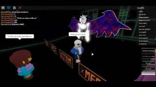 Roblox Frisk vs Asriel Sans e Asgore nel team di Frisk
