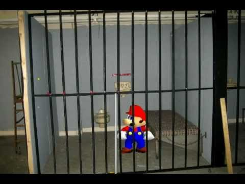 Mario In Jail Super Mario 64 Greenscreen Test 3 YouTube