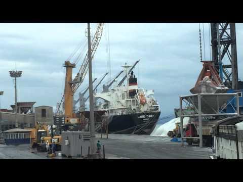 Saik's AgriTrek: Brazil - A Visit to Paranagua Port