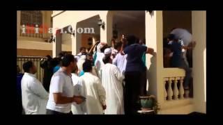 ازدحام وتحرش جنسي امام السفارة الإيرانية في البحرين