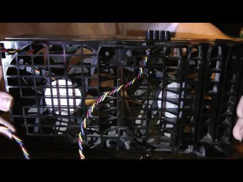 Dell Precision T3500 Workstation Fan Disassembly & Cleaning (1080p)