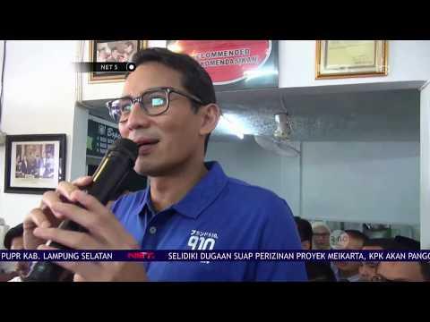 Sandiaga Uno Sebut Akan Berdayakan UMKM dalam Kunjungannya Ke Padang   NET5 Mp3