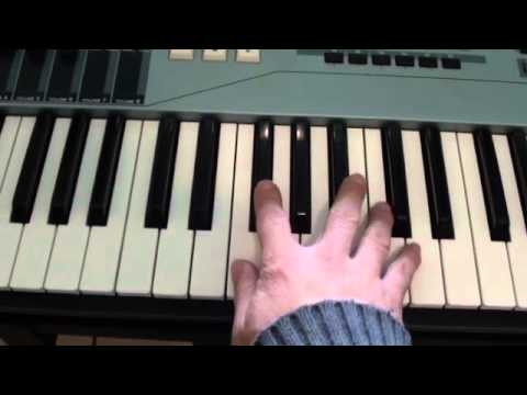 How to play Gas Pedal on piano - Sage The Gemini