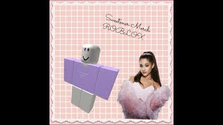 ROBLOX DESIGN: Ariana Grande Sweetener Merch