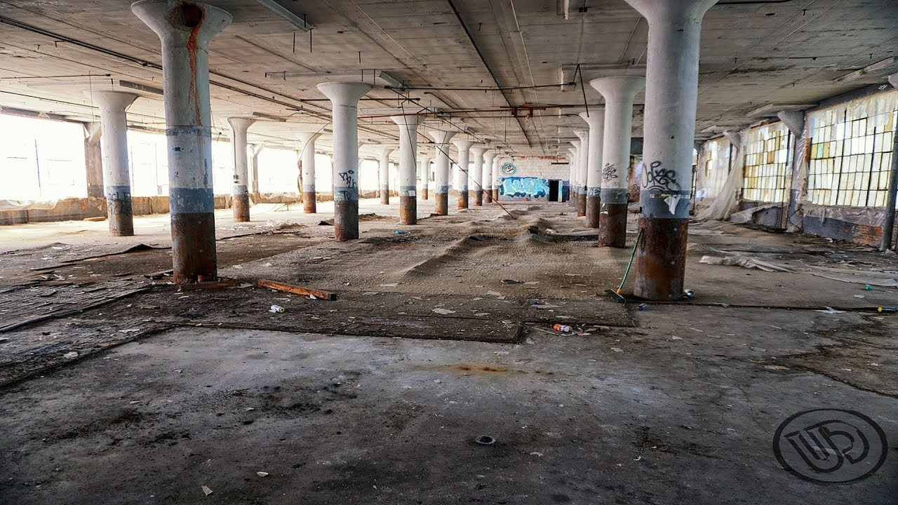old abandoned mattress factory urbex cleveland ohio youtube