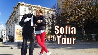 Our first impressions traveling in Sofia, Bulgaria as we wandered around the city