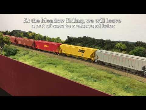"SPSF Meadow Sub ""The Rocket"" Unit Grain Train"