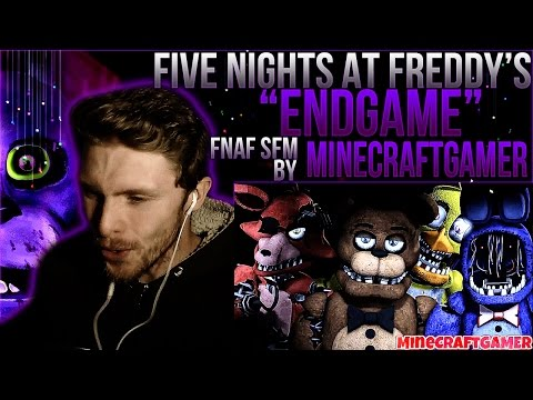 "Vapor Reacts #161 | *NEW* [FNAF SFM] SONG ""Endgame"" Animation by MineCraftGAMER REACTION!!"