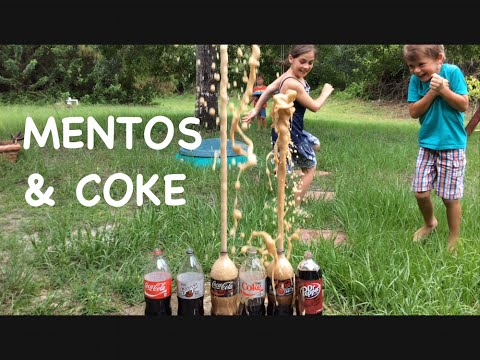 Mentos And Experiment