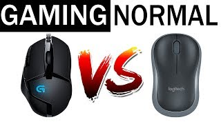 DIFFERENCE BETWEEN GAMING MOUSE Vs NORMAL MOUSE HINDI