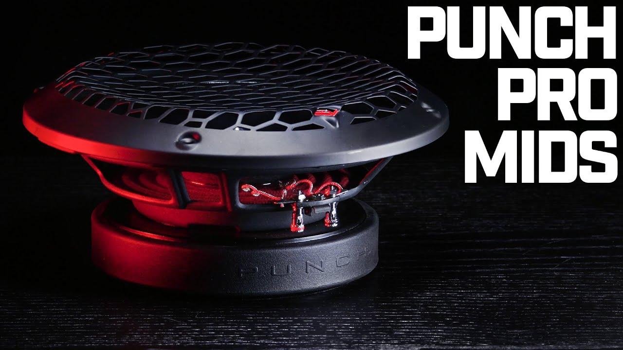 Rockford Fosgate Punch Pro Midrange Drivers