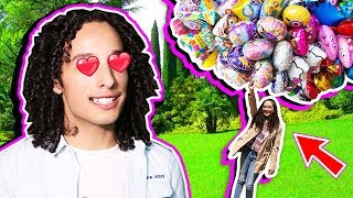 I buy all the balloons and THIS HAPPENED - 1 Day with a FAN