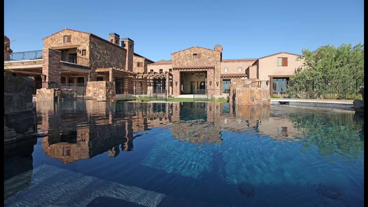Arizona 39 s most expensive luxury homes 25 million for Pictures of luxury homes