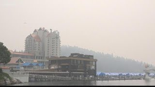 "Air quality reaches ""hazardous"" level in Spokane"