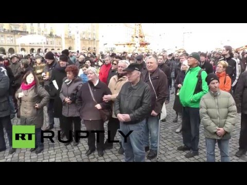 Germany: Tempers flare after AfD memorial for Dresden bombings disrupted