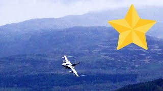 """💯 Gold Star Tornado Appears Out of Nowhere in The Mach Loop. """" Bad Weather """""""