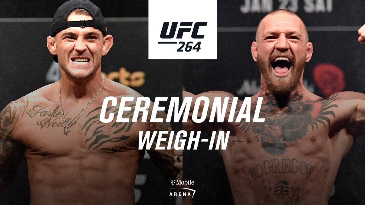 Download UFC 264: Ceremonial Weigh-in | Poirier vs McGregor 3