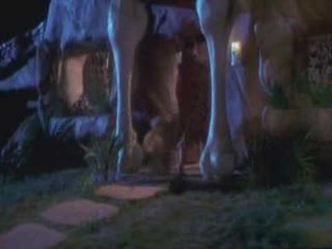 The Flintstones Film Ending with cartoon ending music