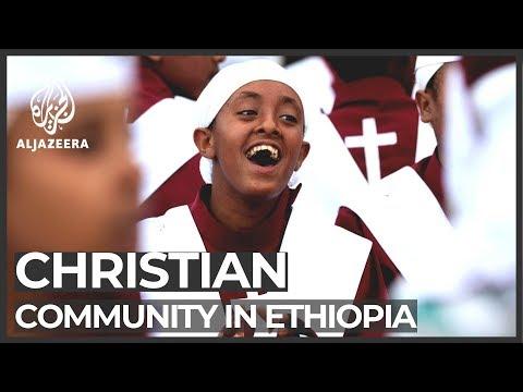 Ethiopian Orthodox Christians celebrate Christmas