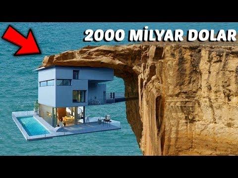 Dünyanın En Pahalı 5 Evi (2000 Milyar Dolar) Oteller v.b