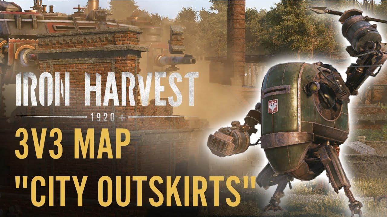 City Outskirts   New Iron Harvest 3v3 Multiplayer Map