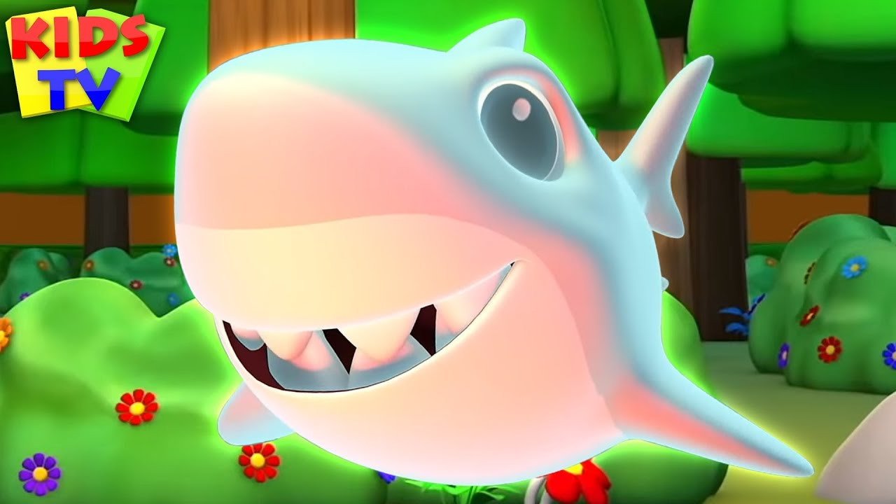 Scary Flying Shark | Kids Halloween Songs + More Nursery Rhymes