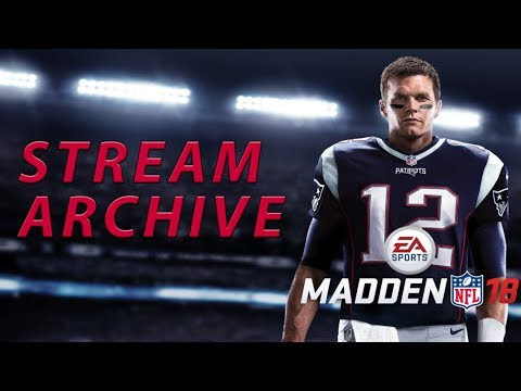 Madden 18 Twitch Gameplay | MUT Squads Gameplay + Live Lab 335 Wide