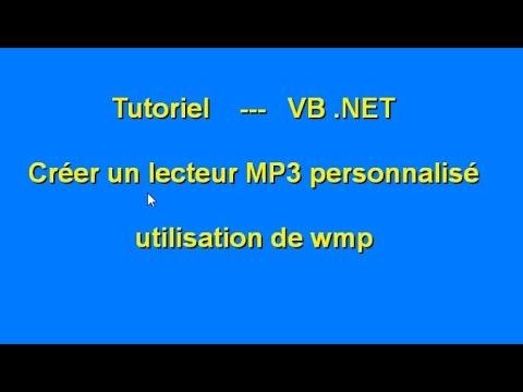 Tutoriel -  Créer un lecteur MP3 avec VB.Net