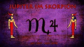 Special für alle Sternzeichen - Jupiter im Skorpion Okt 2017 bis Nov 2018: Reichtum in der Tiefe