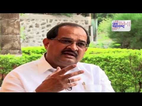 Exclusive Interview of the State agriculture and marketing minister Radhakrishna Vikhe-Patil