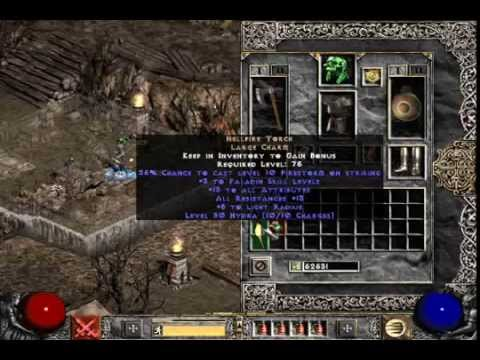 Diablo 2 LoD key run - YouTube