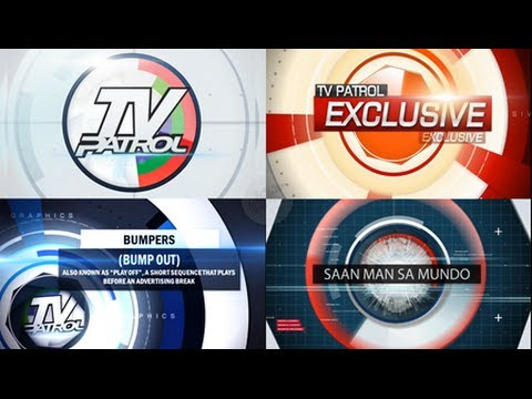TV Patrol (Broadcast Package/Graphics) version by The Motion Routes