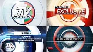 Tv Patrol  Broadcast Package/graphics  Version By The Motion Routes
