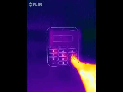 Thermal imaging of locks atms and pin pads youtube for Thermal watches