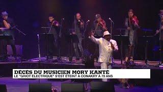 """Disparition Du """"griot électrique"""" Mory Kanté, Icône De La Musique Africaine"""