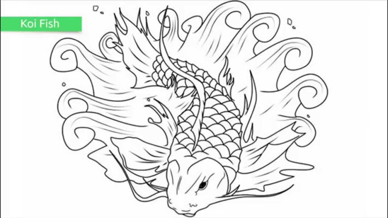 top 25 free printable fish coloring pages youtube - Printable Fish Coloring Pages