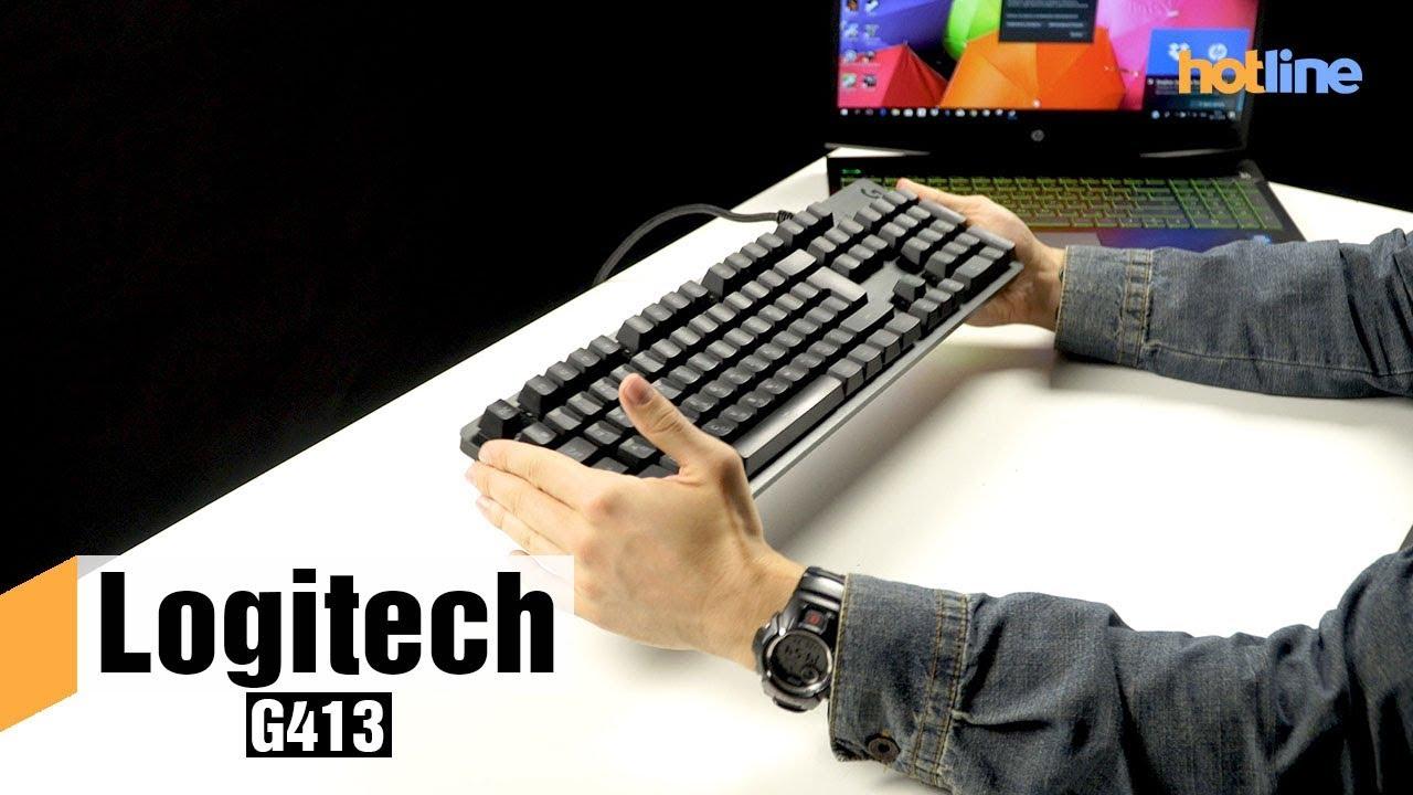 Logitech G413 — обзор игровой механической клавиатуры