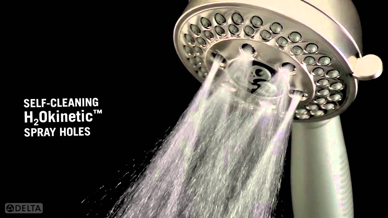 H2Okinetic Hand Showers with Multiple Settings by Delta Faucet ...