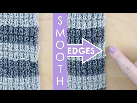 Slip Stitch Edges Knitting Lessons For Beginners Youtube