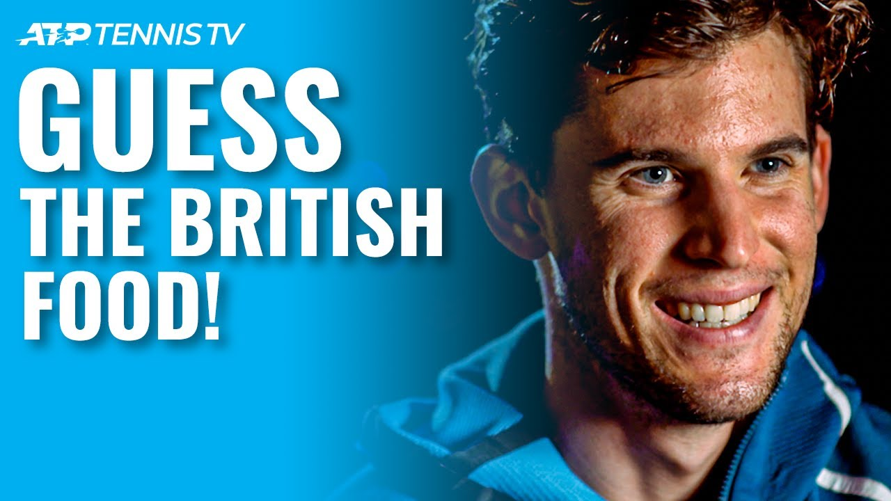 ATP Tennis Players Play 'Guess The British Food' 🇬🇧