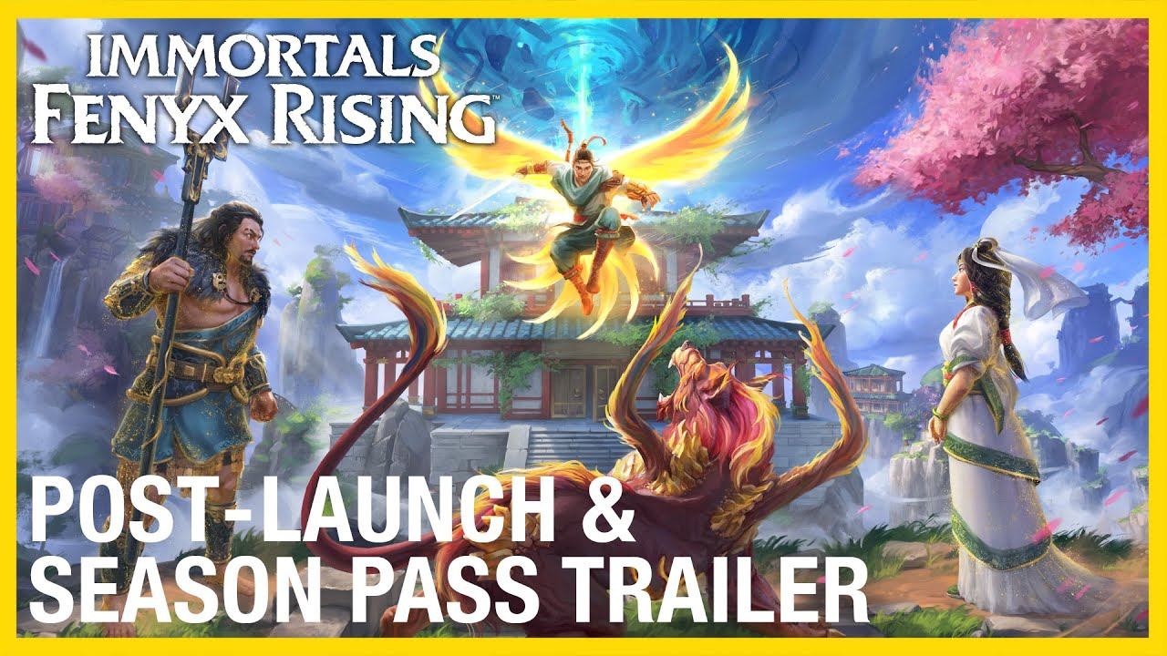 Immortals Fenyx Rising: Post Launch & Season Pass | WIP Gameplay Capture Trailer | Ubisoft