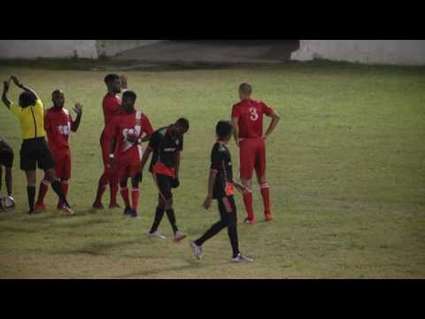 liberta vs hoppers (first half)Antigua Premier League