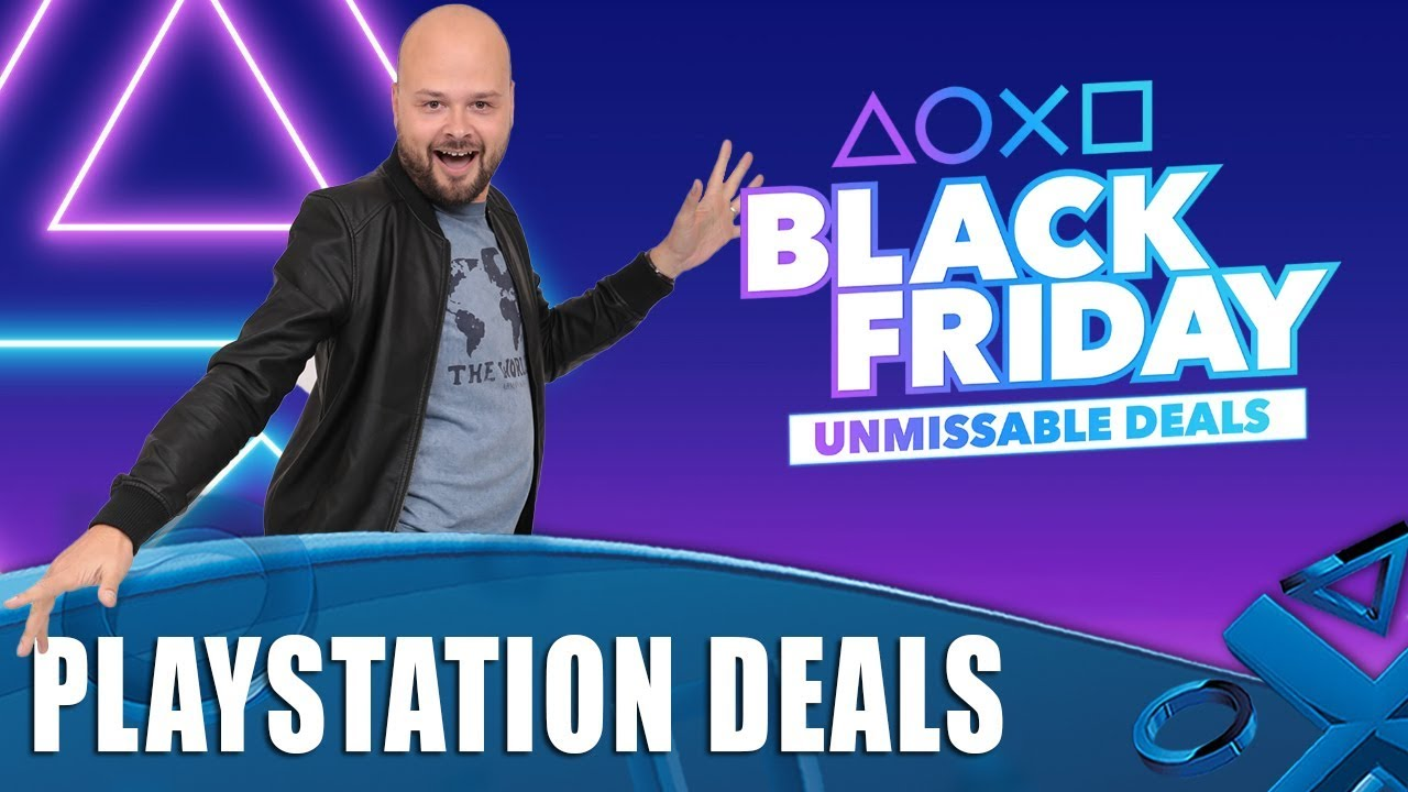 Here Are The Best PlayStation 4 Deals For Black Friday