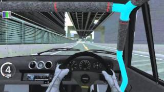 3AM RWB PORSCHE CRUISE - Tokyo C1 Inner Loop - Assetto Corsa