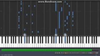 Synthesia - Caramelldansen: Speedycake Remix (piano)