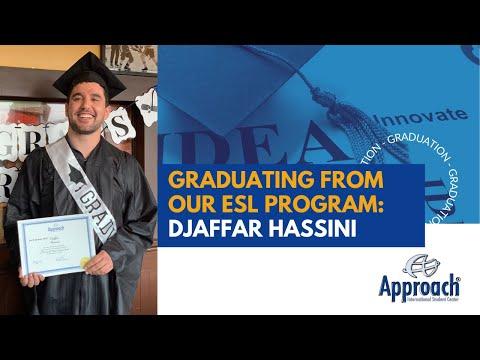 GRADUATION | Djaffar Hassini is transferring to New England Institute of Technology