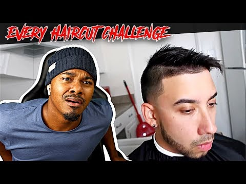 COMBOVER GONE WILD! EVERY HAIRCUT CHALLENGE