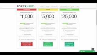 Обзор ForexYard - PFOREX.COM