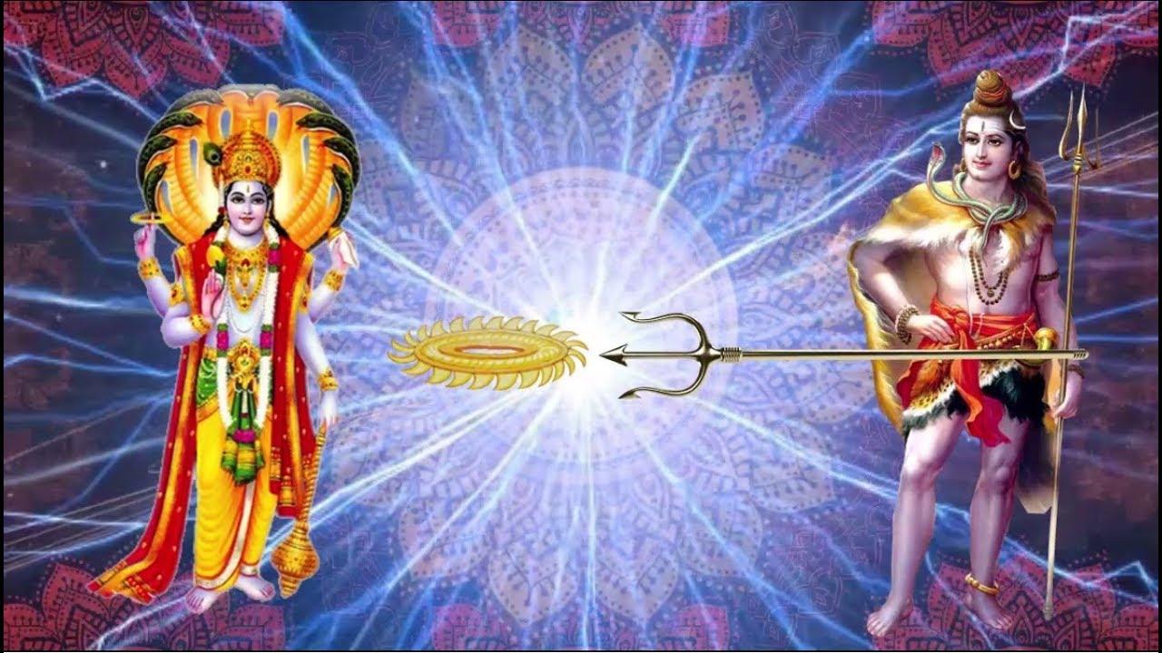 Image result for shiv and vishnu image